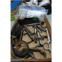 Bag of Breech Bolts; Trigger Guard & Slings