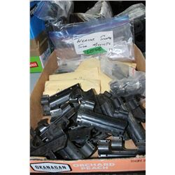 Bag of Several Weaver Scope Side Mounts