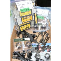 Bag of Misc. Scope Mounts & a Bag of Weaver Split Ring Pivot Mounts