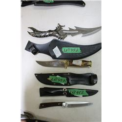 3 Knives - Made in India