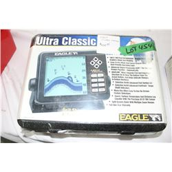 Eagle Ultra Classic Fish Finder - New in the Plastic Wrap ($429.95 retail)