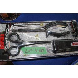 2 Rapala Fishing Tool Kits w/Sheaths