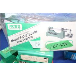 RCBS Loading Scale