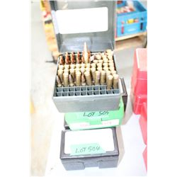 280 Reloaded .222 Live Rnds w/Load Information In or on the Cases