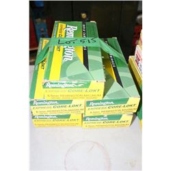 5 Boxes of Factory Remington Express Core Lokt, 6.5mm Magnum, Live Rnds, 120 gr., Soft Point