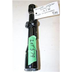 1 Hensoldt - Wetzlar Diatal-D 4 x 32 Scope, Made in Germany