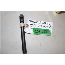 "New Glock 10mm Barrel - 6"" Long"