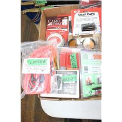 Flat w/Leupold Alumina Kit; 6 Shotgun Snap Caps for Dry Firing; Williams Fire Sight; Lazer Bore Sigh