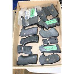 Flat of 12 Pistol Grips for Various Handguns