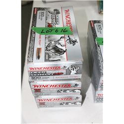 3 Boxes of Factory 300 WSM, 180 gr., Power Point, Winchester, Deer Season XP