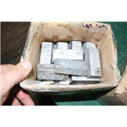 20 pounds of Lead Ingots