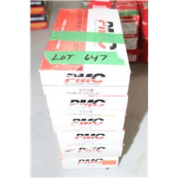 6 Boxes of PMC Factory 270 B Winchester PSP