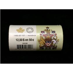 2015 Canada 50-Cents Special Wrap Roll