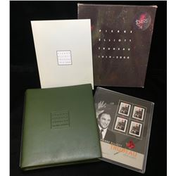 2000 Pierre Elliott Trudeau Stamps & Portrait Set