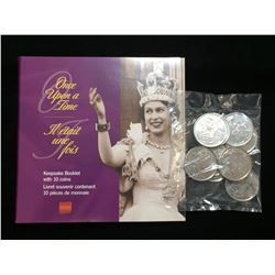 1952-2002 Canada 50-Cents Golden Jubilee Commemorative Coins