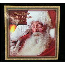 2004 Canada Santa 25c Holiday Gift Set