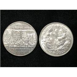 1972-1982 Canada $1 Commemorative Dollars