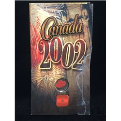 2002 Canada 25-Cents Canada Day Coloured Coin
