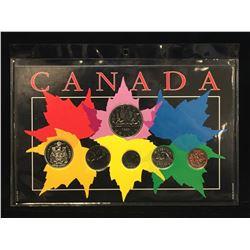 1980 Canada Brilliant Uncirculated Year Set