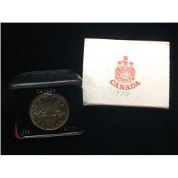 1972 Canada $1 Silver Case Dollar