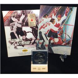 1997 Canada $1 Canada-Russia Series Commemorative Silver Dollar Gift Set