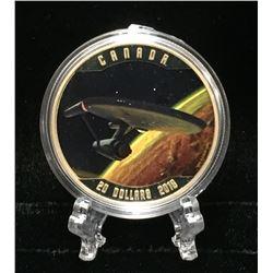 2015 Canada $20 Star Trek: Enterprise Colour Proof Silver Coin