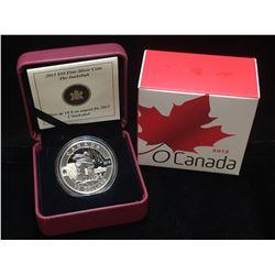 2013 Canada $10 Inukshuk: O Canada Specimen Silver Coin