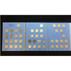 Canadian 5-Cents Nickel Collection 1922-1960 (Incomplete)