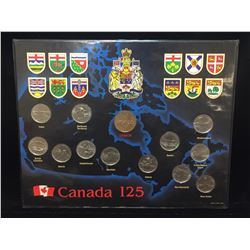 1992 Canada 125th Anniversary of Confederation Uncirculated Coin Set