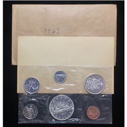 1963 Canada $1 Proof-Like Silver Uncirculated Set