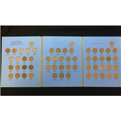 Canadian 1-Cent Small Cent Collection 1920-Date (Incomplete)