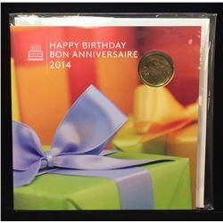 2014 Canada Happy Birthday Set