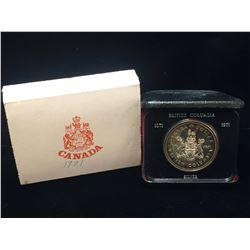 1971 Canada $1 British Columbia Silver Case Dollar