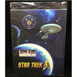 2016 Canada Star Trek 25-Cents Commemorative Coin & Stamp Set