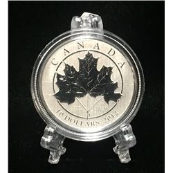 2012 Canada $10 Maple Leaf Forever Specimen Silver Coin