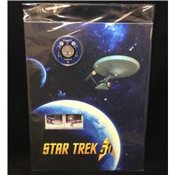 2016 Canada Star Trek 25-Cents Commemorative Coin & Stamp Set