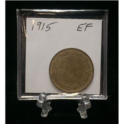 1915 1-Cent Canada Large Cent (EF)