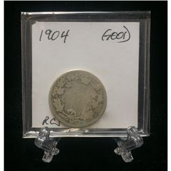 1904 Canada 25-Cents Silver (G)