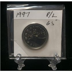 1997 Canada 25-Cents Proof-Like Coin (MS)