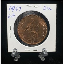 1967 UK Great Britain One Penny