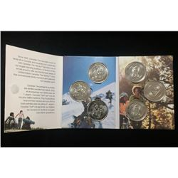 2010 Canadian Tire $1 Money Coins Limited Edition Set