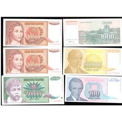 Lot of World Currency Paper Money