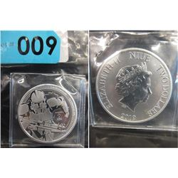 2019 Newly Minted Niue Star Wars Stormtrooper Coin