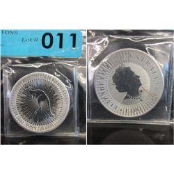 2019 Newly Minted Silver Australian Kangaroo Coin