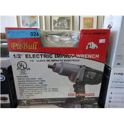 "New Pit Bull 1/2"" Electric Impact Wrench"