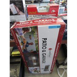 Patio Garage Heater - Store Return