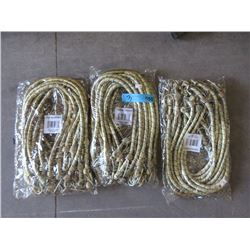 """3 Bundles 12 New 36"""" Bungee Cords (36 total)"""