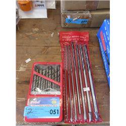 """New 12"""" Wood Drill Bits & Metal Drill Bits Sets"""