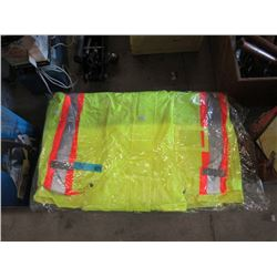 2 New Armourwise Water Repellent 3XL Safety Jacket