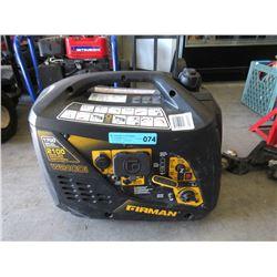 Firman 1700 Watt Portable Generator - As Is
